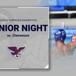 Boys Water Polo Senior Night Tonight @ 5:00pm