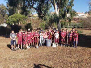 Freshman & JV Football – Community Clean-Up Saturday