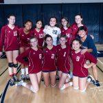 Freshman Girls Volleyball Beats Point Loma