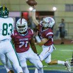 Varsity Football Beats Patrick Henry To Remain Undefeated