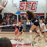 Girls Volleyball Falls To Santa Fe Christian In CIF D1 Semi-Finals