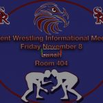 Wrestling Informational Meeting Friday @ Lunch