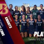 Field Hockey Playoffs Tuesday vs. Bishops @ 3:15