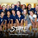 Girls Volleyball – State Playoffs Tuesday @ 6:00pm
