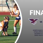 Field Hockey Open Finals Tomorrow @ Serra 3:00pm – Wear Scripps BLUE!
