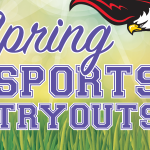 Spring Sports Tryout Information 2020
