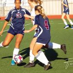 Girls JV Soccer Beats Point Loma