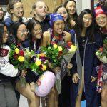 Girls Water Polo Celebrates Senior Night 2020