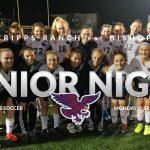 Girls Soccer Senior Night Tonight vs. Bishops
