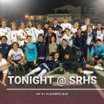 Boys Soccer CIF D1 Playoffs Tonight vs. Crawford