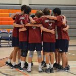 JV Boys Volleyball Beats Valhalla On The Road