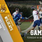 Boys Lacrosse vs. El Camino Tonight @ SRHS 5:00/7:00