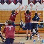Boys JV Volleyball vs. University City