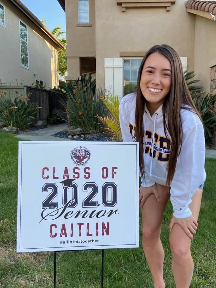 Senior Spotlight 2020 Caitlyn Nesbit