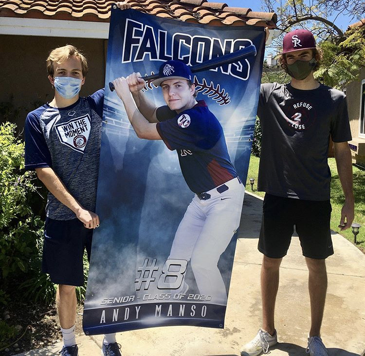 Baseball Senior Posters 2020