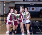Girls Volleyball Seniors 2020