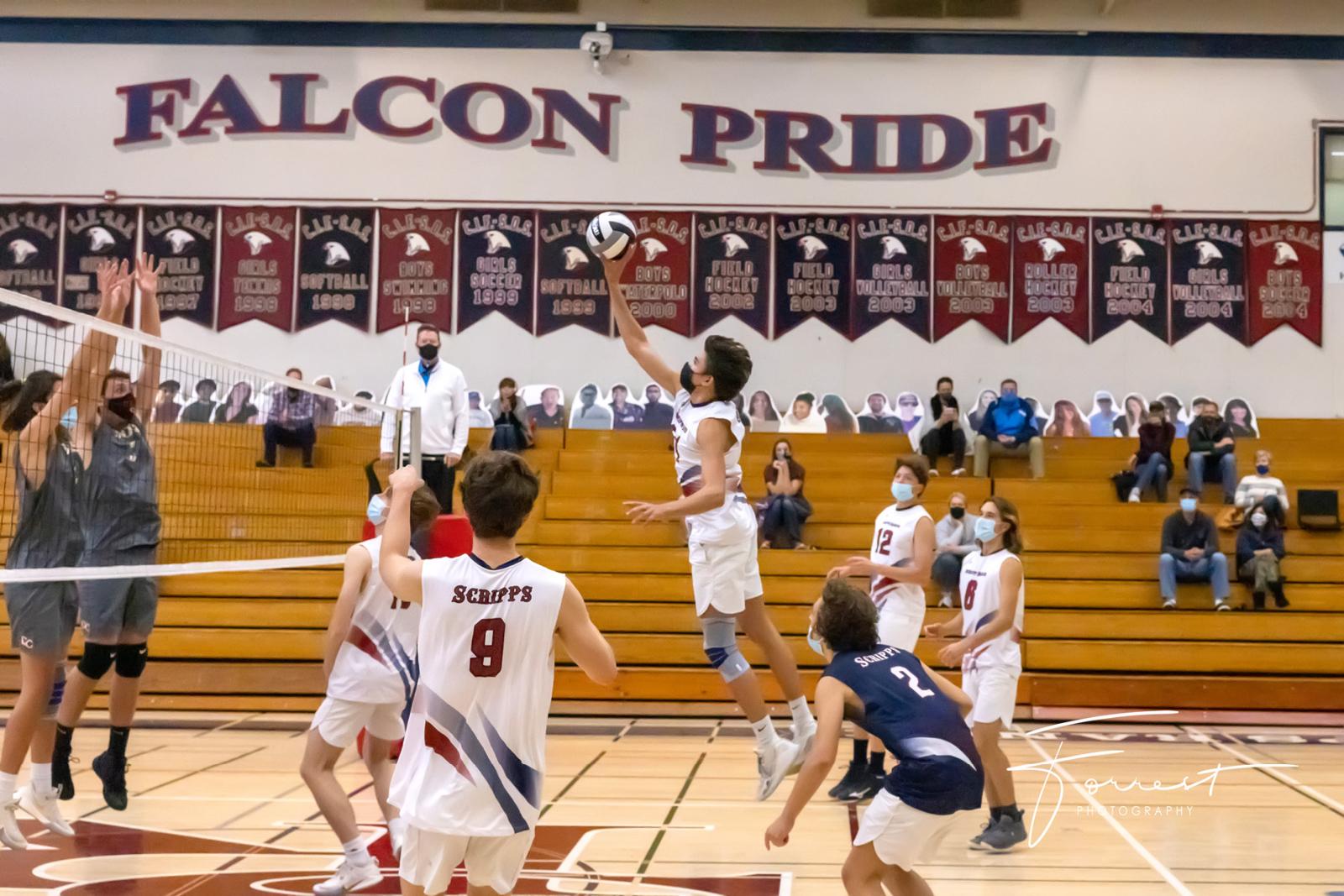 Varsity Boys Volleyball vs. Cathedral Catholic
