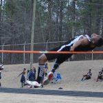 Demetre Irving New Boys High Jump School Record