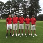 Varsity Boys Golf School Records Broken