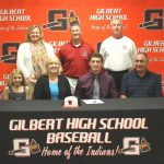Allen Geddings signs with USC Sumter Baseball
