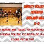 Volleyball Wins Playin!