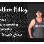 Hilley 4th Place at 3A State Wrestling Championship