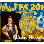 Allison Harman, Sr Girls Basketball, wins Miss FFA 2016