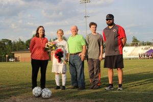 Girls Soccer Senior Night 2016
