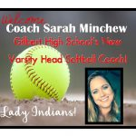 Welcome Sarah Minchew Head Varsity Softball