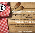 Cross Country Spaghetti Fundraiser