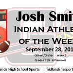 Josh Smith Male Indian Athlete of the Week
