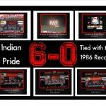 6-0 Varsity Indians!