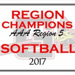 Lady Indians AAA Region 5 Champions Softball