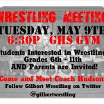 Wrestling Information Meeting