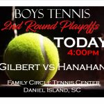 Boys Tennis 2nd Round Hanahan HS