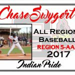 Chase Swygert All Region Baseball