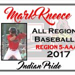 Mark Kneece All Region Baseball
