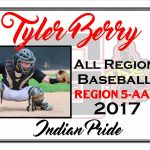 Tyler Berry All Region Baseball