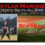Skylar Maroney North South All Star Softball