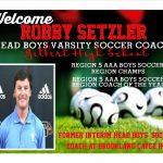 Welcome Coach Setzler!