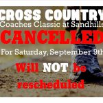 XC Cancelled