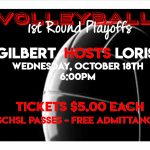 Volleyball 1st Round Playoffs