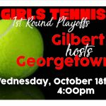 Girls Tennis 1st Round Playoffs
