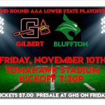 Gilbert HOSTS Bluffton 2nd Round