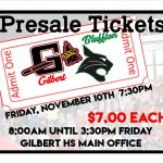 Presale Tickets for Friday