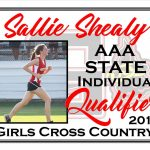 Sallie Shealy AAA State Cross Country Qualifier