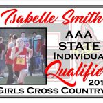 Isabelle Smith  AAA State Cross Country Qualifier