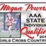 Megan Powers AAA State Cross Country Qualifier