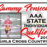 Sammy Fonseca AAA State Cross Country Qualifier