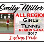 Emily Miller Girls Tennis All Region